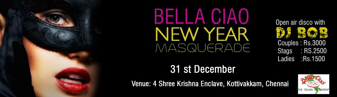 Book Online Tickets for Masquerade - New Year Party @ Bella Ciao, Chennai. Description: Chennai, you are the ultimate party destination this New Year's Eve! One more feather on your cap is the Masquerade – New Year Party at Bella Ciao.