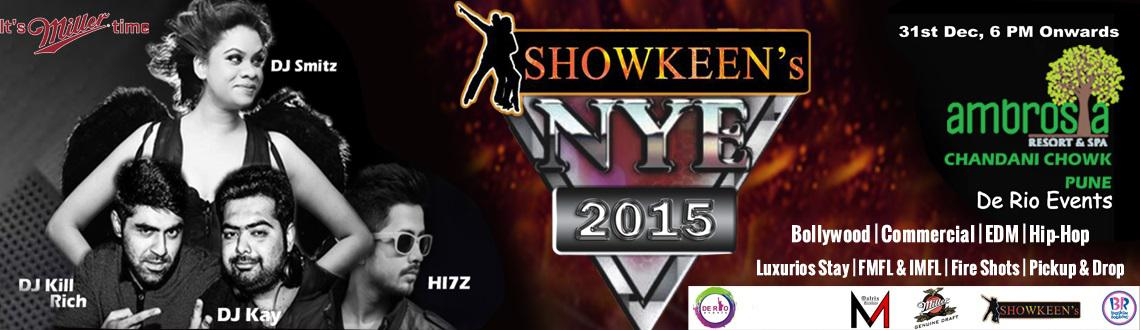Book Online Tickets for SHOWKEENS NEW YEAR EVE 2015 @ AMBROSIA R, Pune. What can be better than celebrating your new years,in a resort situated in the outskirts of Pune? Yes, you can at AMBROSIA RESORTS, Chandni Chowk! WithDjane SmitzDj Kill RichDj KayDj Hi7z And you get,âUnlimited alcohol (Inte
