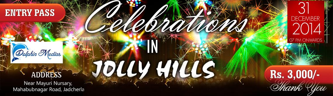 Book Online Tickets for New Year Celebrations 2015 @ Jolly Hills, Mahbubnaga. When was the last time you went for a party and came back home winning a 5 gm gold. Well, such luck is bound to attract you if you make some wise decisions – like partying at Jolly Hills at DC Pally, Mahbubnagar for this New Year's Eve.