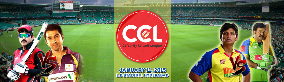 CCL 5 - Chennai Rhinos Vs Kerala Strikers and Telugu Warriors Vs Bengal Tigers