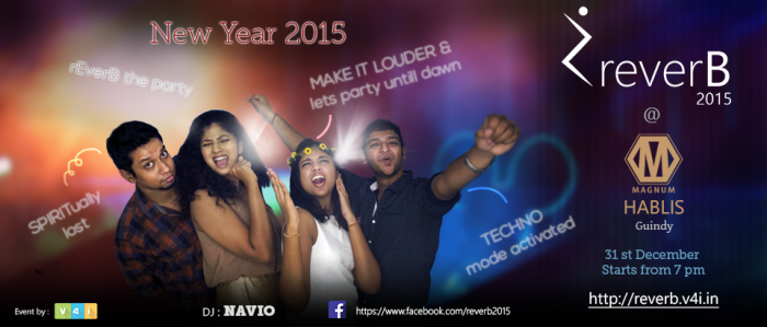 Reverb 2015 - New year party @ hotel hablis