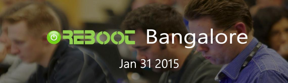 Reboot Camp - Bangalore