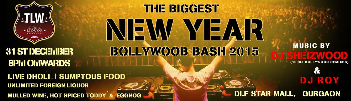 Book Online Tickets for The Biggest  New Year Bollywood Bash 201, Gurugram. On this New Year Eve head to TLW (The Liquor Warehouse) to kick off the last night of this year with the glam and style.Raise a toast to New year,indulge in casual dining and savor unlimited dinner and Foreign Liquor at The Biggest New Year Bollywood