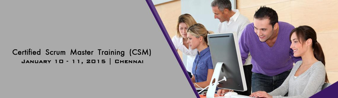 Book Online Tickets for Certified Scrum Master (CSM) Training in, Chennai. 