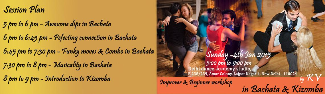 Improver and Beginner Workshop in Bachata and Kizomba