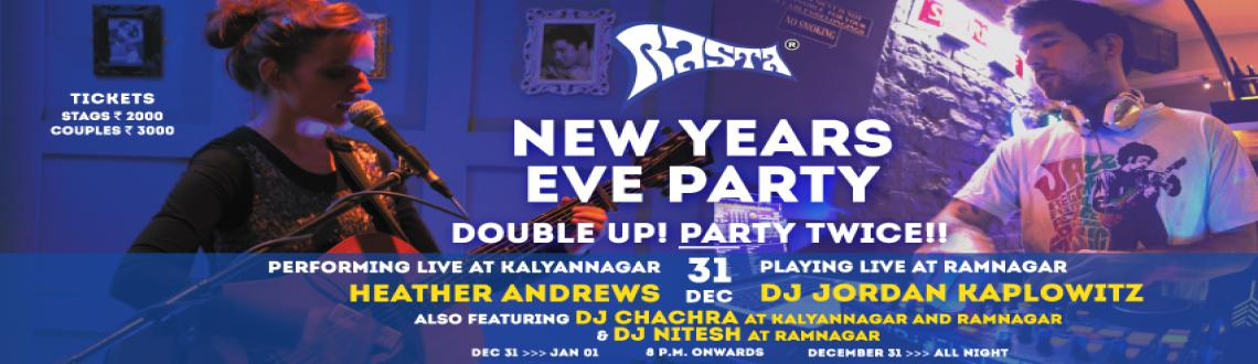 Book Online Tickets for New Years Eve @ Rasta, Bengaluru. This new year\\\'s is about to get doubly better - double the venues, double the party! Rasta SO2EO1presents, for the first time in Bangalore, Heather Andrewsfrom Mumbai.A singer/songwriter from London, Heather is a multi-instrumen