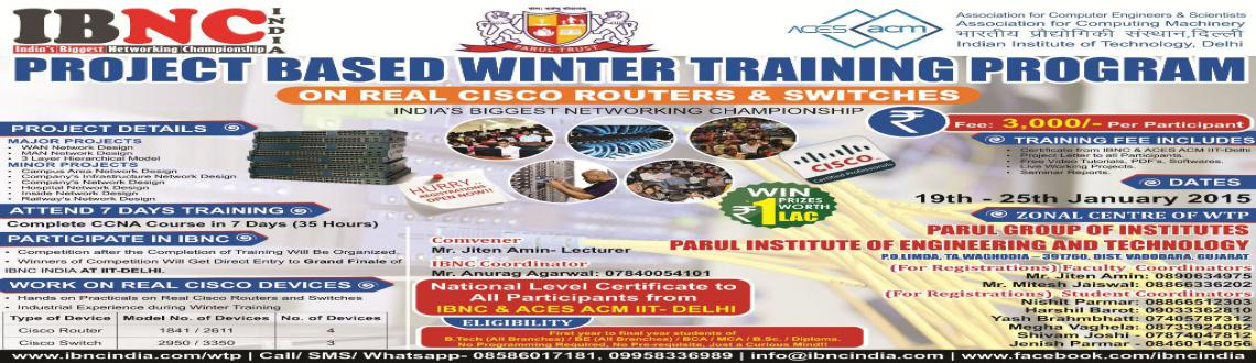 Project Based Winter Training Program in Parul Institute of Engineering  Technology, Vadodara