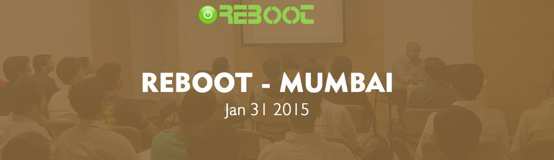 Book Online Tickets for Reboot Mumbai, Mumbai. ASIA'S BIGGEST COMMUNITY EVENT, REBOOT IS BACK WITH A BANG.
