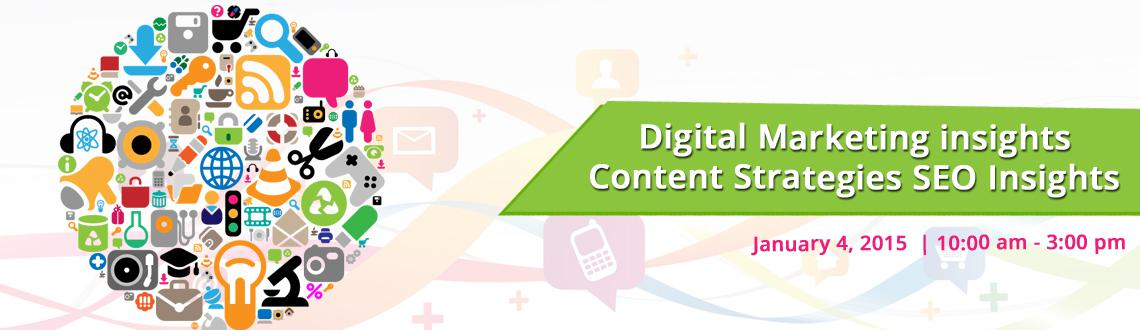 Digital Marketing insights, Content Strategies  SEO Insights