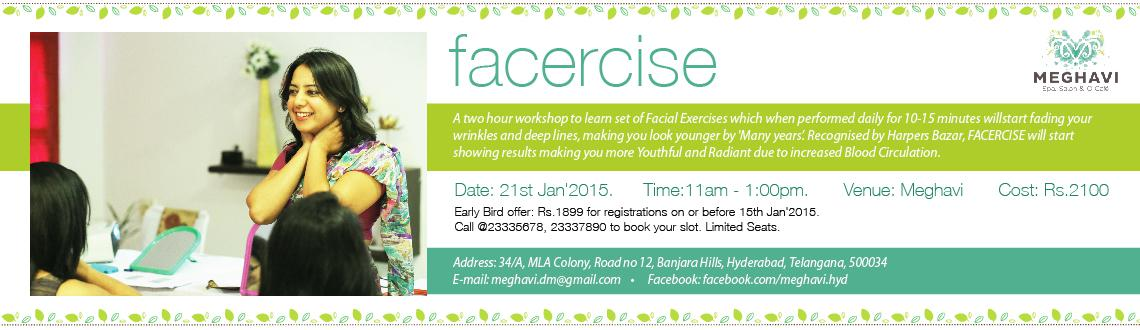 FACERCISE - To Look Young without Plastic  Botox.