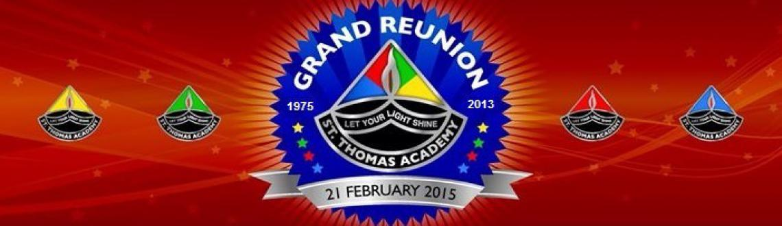 Book Online Tickets for STA Grand Reunion, Mumbai. The STA Grand Reunion is for all the ex-students of St. Thomas Academy, Goregaon West, Mumbai. All the ex-students from 1975 batch till date are invited to be a part of this grand event.  Why should you attend? This is once in a