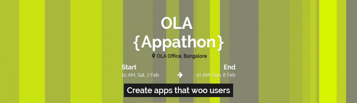Book Online Tickets for  Code to ride with Ola., Bengaluru. Venturesity invites all the developers to come in Ola appathon and build awesome mobile applications using Android/iOS/Windows Mobile platforms. All you need to do is apply, attend and build an app. In this 24 hours of coding showcase the Ola team wh