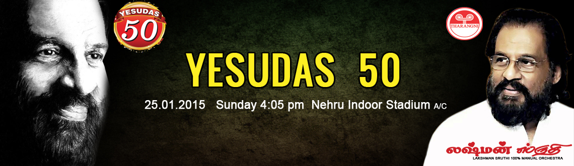 YESUDAS 50 - Live in Concert 2015 at Chennai