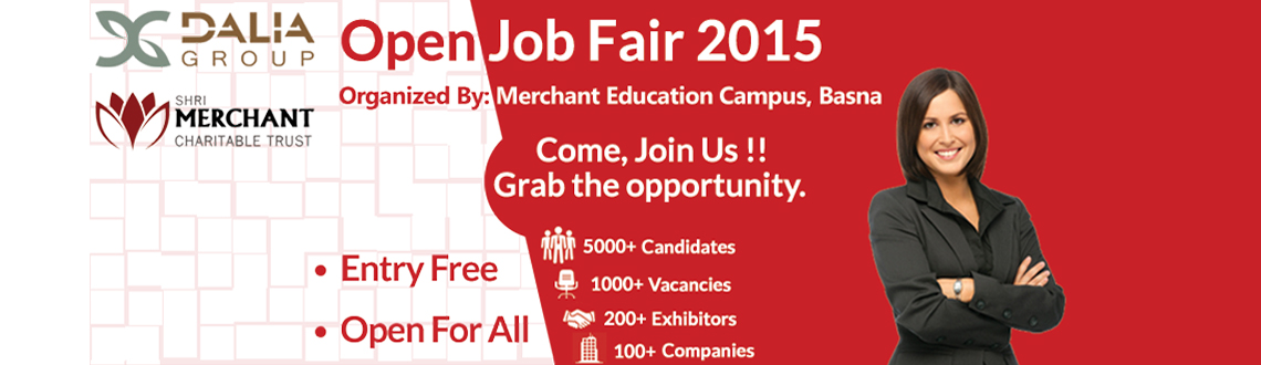 Book Online Tickets for Open Job Fair 2015, Hyderabad. http://www.merchantitlab.com/jobfair/ 