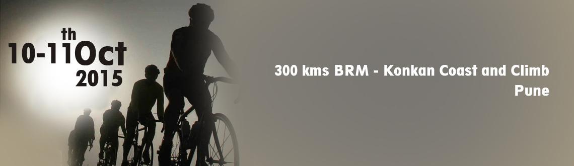 300 kms BRM - Konkan Coast and Climb
