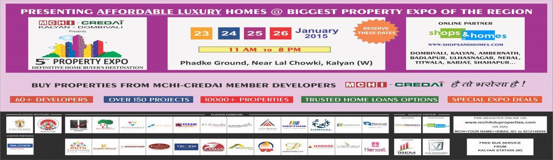 MCHI-CREDAI Kalyan Dombivli 5th Property Expo