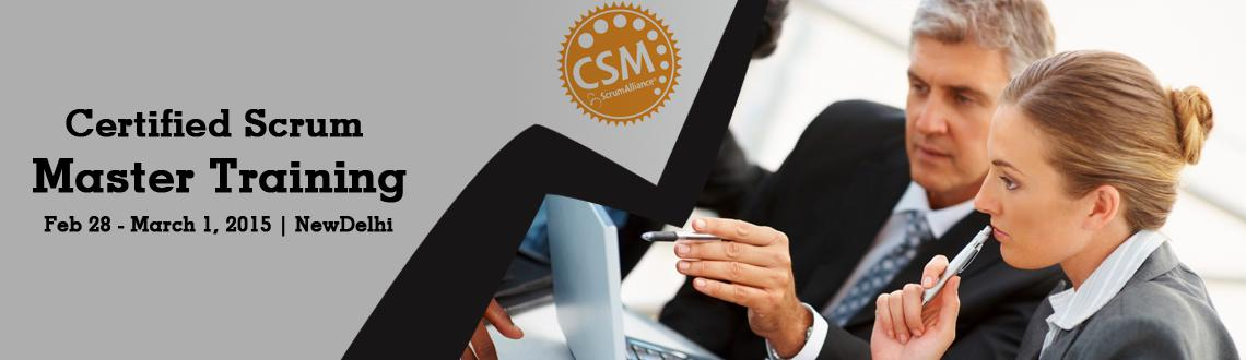 Book Online Tickets for Certified Scrum Master (CSM) Training in, NewDelhi. 