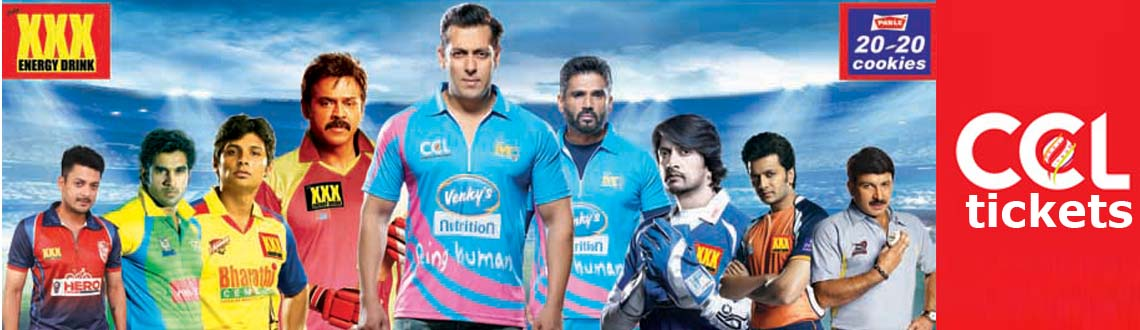 Book Online Tickets for CCL 5 - Final , Hyderabad. It all started in February 2003 when we organised the first Film Stars T20 Cricket with Telugu Stars even before the first official Twenty20 matches were played on 13 June 2003. Trying to fit in 3 matches in one day brought about the T20 format way a