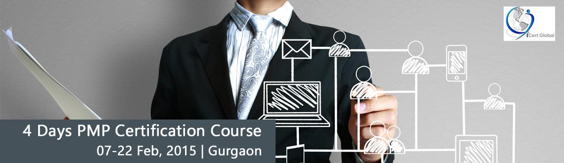Enroll Now 4 Days PMP Certification Course in  Gurgaon, India