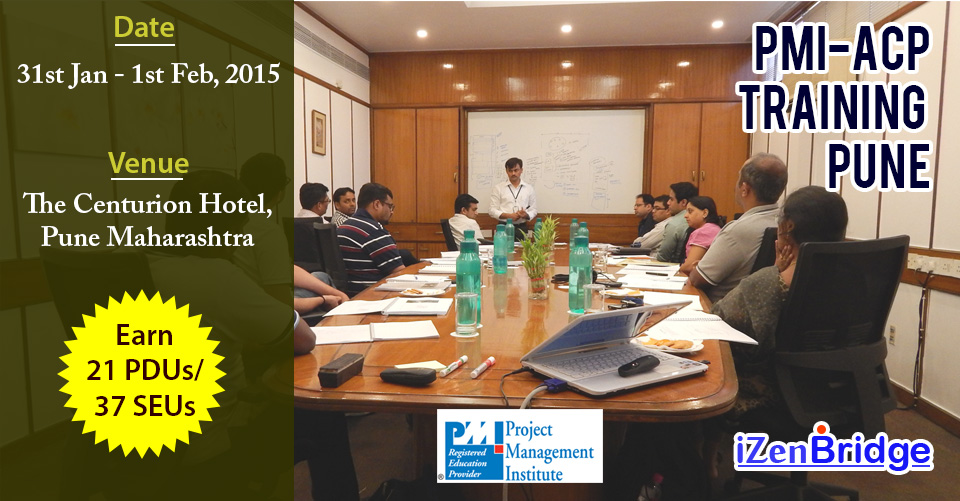 PMI-ACP Classroom Training In Pune