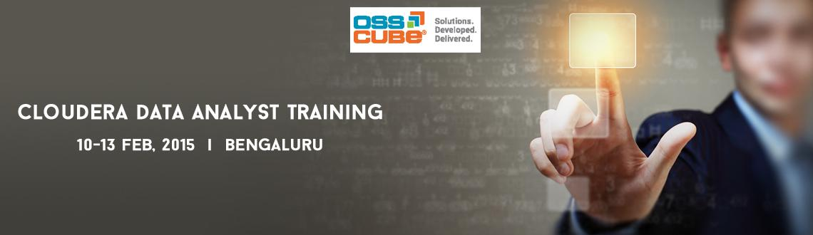 Book Online Tickets for Cloudera Data Analyst Training at Bangal, Bengaluru. OSSCube organizes Cloudera Data Analyst Training. Cloudera University's four-day data analyst training course focusing on Apache Pig and Hive and Cloudera Impala will teach you to apply traditional data analytics and business intelligence skill