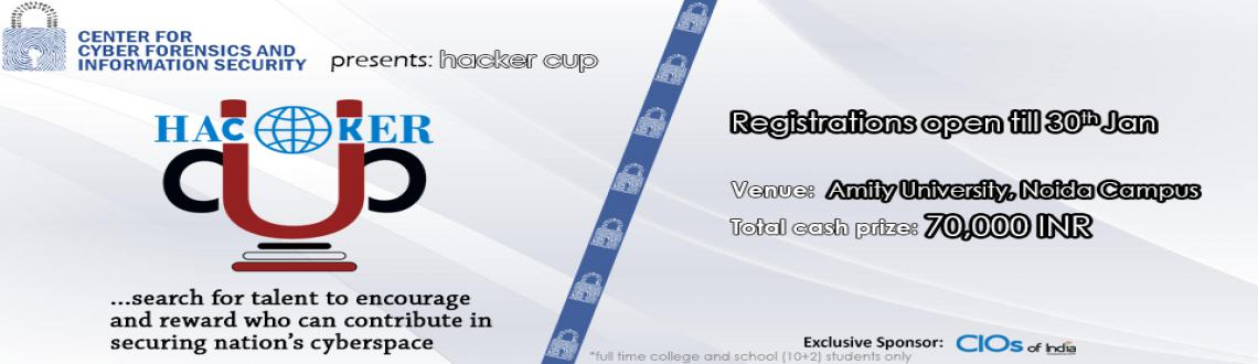 Book Online Tickets for CCFIS Hacker Cup, Noida. CCFIS Hacker Cup is an event for those talented humans who wish to root the host. The 1-day event will be packed with free session on Cyber Security, Ethical Hacking, Digital Forensics, Cyber Crime Investigation and System Exploitation following with