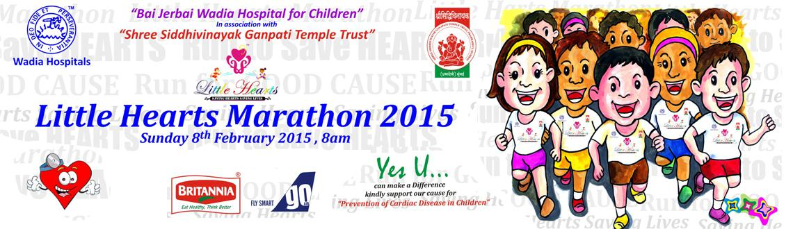 Book Online Tickets for  Little Hearts Marathon 2015, Mumbai. 