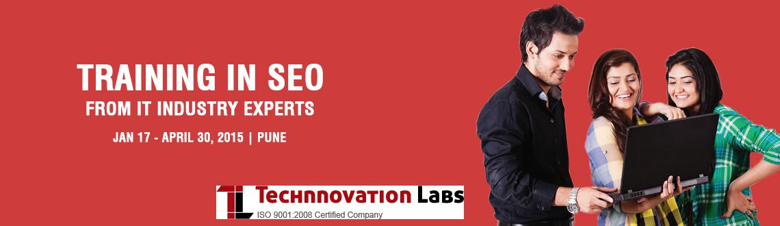 Book Online Tickets for SEO Training in Pune Technnovation Labs, Pune. Details: Search Engine Optimisation is a growth area among the IT industry. seo growth is like the early 2000s  growth of the IT industry in India. SEO is used to increase the search engine rankings of a website so that they show on top of the 1st