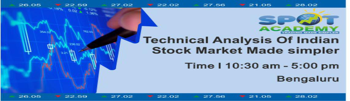 Technical Analysis of Indian Stock Market