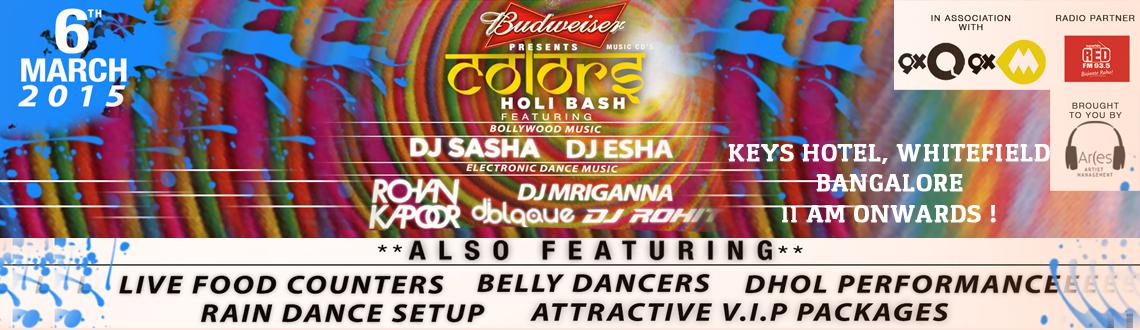 Colors- Holi Bash 2015