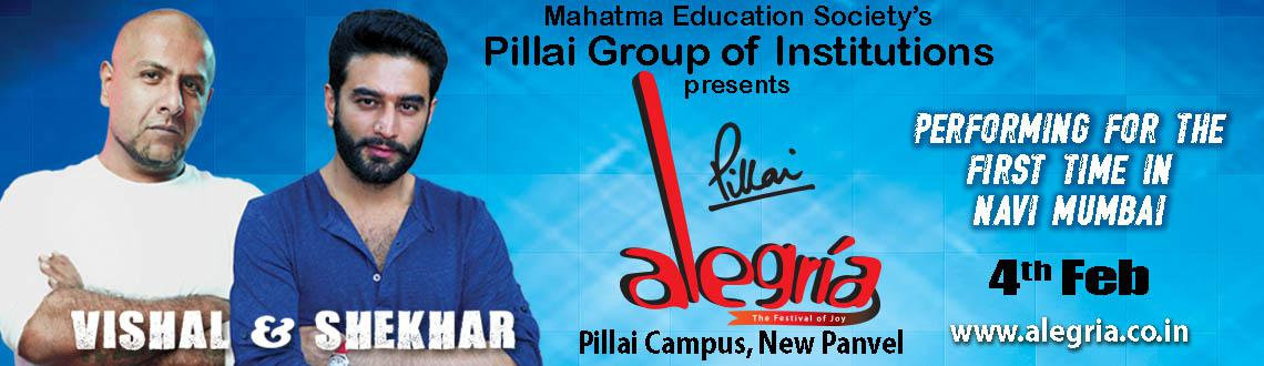 Vishal and Shekhar Live at Pillai College on 4th Feb