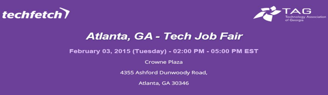 Book Online Tickets for Atlanta, GA  Tech Job Fair Feb 03 , Dunwoody . Atlanta, GA – Tech Job Fair Feb 03