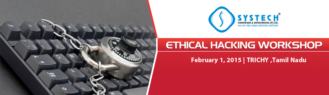 Book Online Tickets for SYSTECH EHACK FEB 2015, Hyderabad.  R U sure ur computer is hack proof ??? Has ur email ID ever got hacked???How safe is ur credit card details???Do u know ur android mobiles can be hacked & ur Phone Calls can be taped???How to monitor ur kids using FACEBOOK???What if ur L