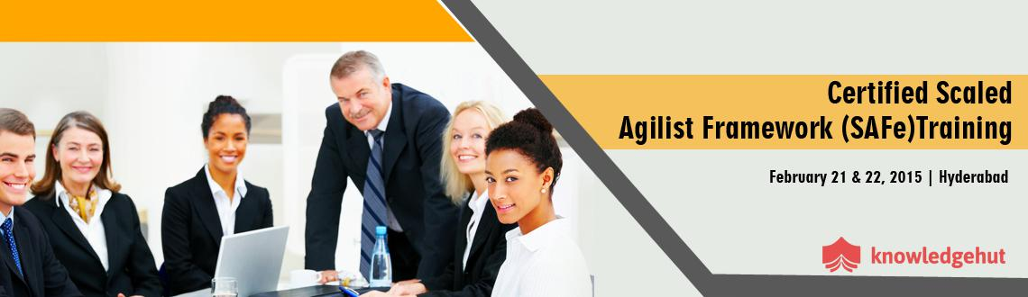Book Online Tickets for Certified Scaled Agilist Framework (SAFe, Hyderabad. http://www.knowledgehut.com/training/certified-scaled-agilist-framework-training-hyderabad/629/14746