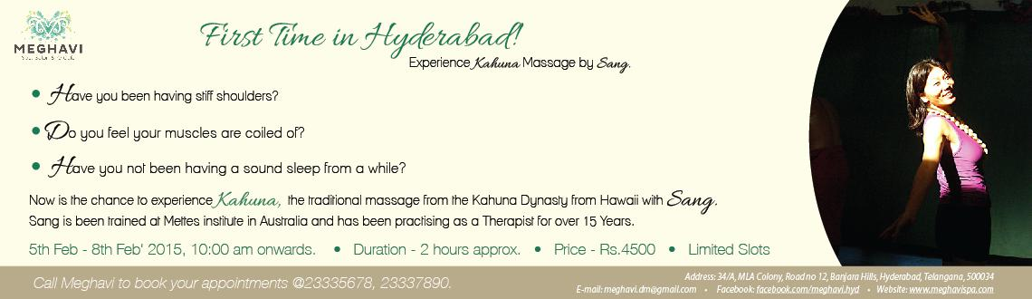 Kahuna Massage by International Therapist Sang Sukk