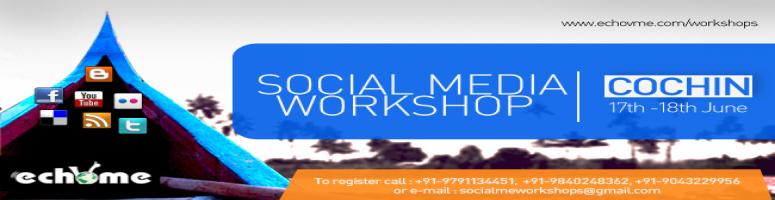echoVME\'s 15th Social Media Marketing boot camp on 17th and 18th June in Cochin