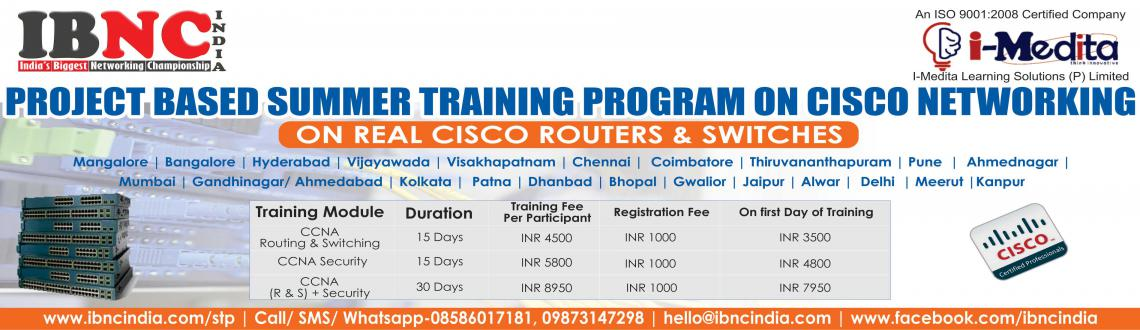 Project Based Summer Training Program on Cisco Networking