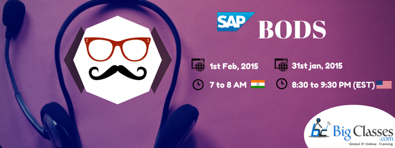 FREE Webinar On SAP BODS - Register Here