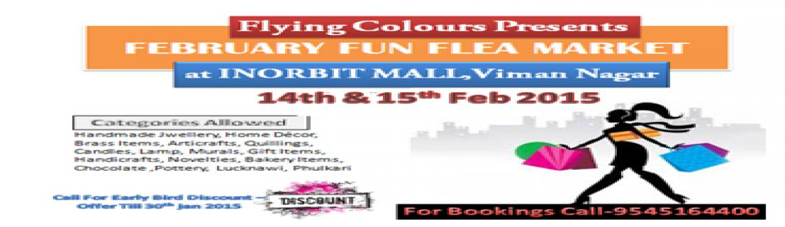 February Fun Flea Market at Inorbit Mall BY FLYING COLOURS on 14th  15th Feb 2015  Copy Copy Copy