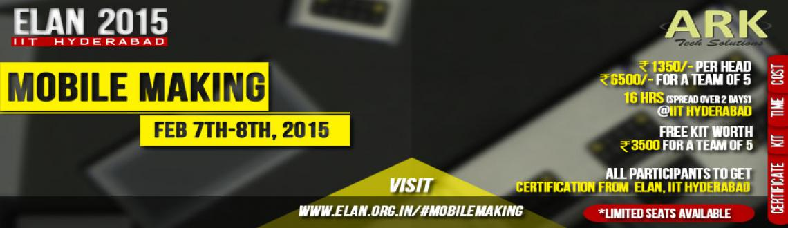 MOBILE MAKING WORKSHOP - ELAN 2015