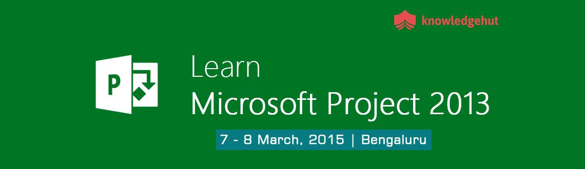 Book Online Tickets for Managing Projects with Microsoft Project, Bengaluru. http://www.knowledgehut.com/training/managing-projects-with-microsoft-project-2013-training-bangalore/660/15903    Course Overview:   This is a two-day course where you will be introduced to and provided with guidance a