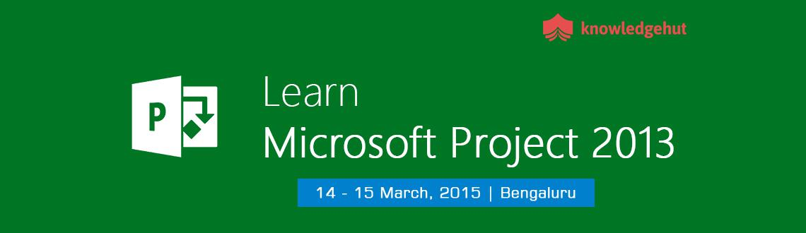 Book Online Tickets for Managing Projects with Microsoft Project, Bengaluru. http://www.knowledgehut.com/training/managing-projects-with-microsoft-project-2013-training-chennai/660/15904
