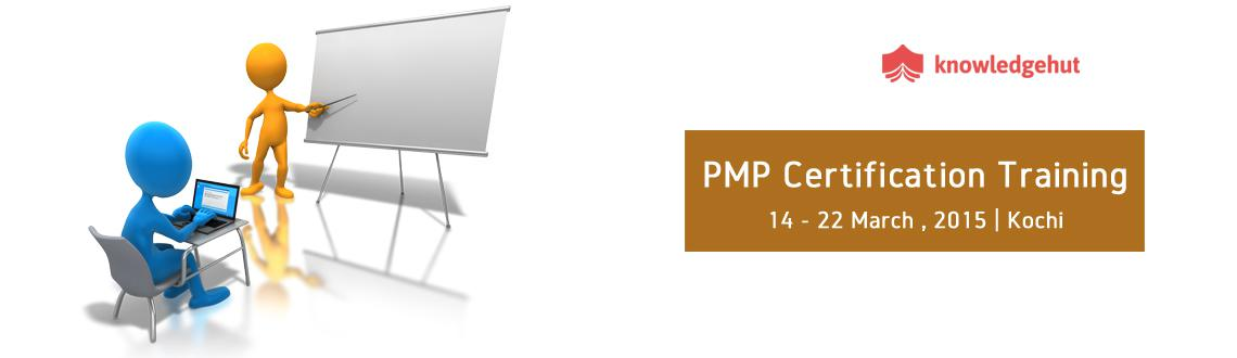 Book Online Tickets for PMP Certification Training in Kochi, Kochi. 4 Day PMP Workshop:  http://www.knowledgehut.com/training/pmp-certification-training-Kochi/40/16706   Course Overview:   Widely accepted as a global benchmark to recognize proficiency and skills in Project Management,
