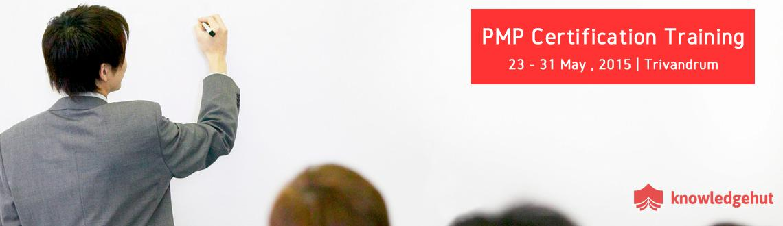 Book Online Tickets for PMP Certification Training in Trivandrum, trivandrum. 4 Day PMP Workshop:  http://www.knowledgehut.com/training/pmp-certification-training-trivandrum/40/14617   Course Overview:   Widely accepted as a global benchmark to recognize proficiency and skills in Project Managem