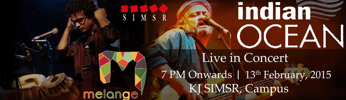 Indian Ocean Live Concert @K . J.Somaiya Institute of Management Studies and Research