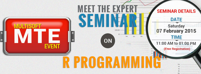 Multisoft MTE Seminar on R Programming (Free Limited Seats Available)