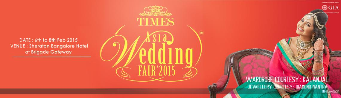 TIMES ASIA WEDDING FAIR  2015