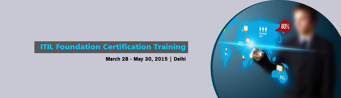 Book Online Tickets for ITIL Foundation Certification Training i, NewDelhi. 