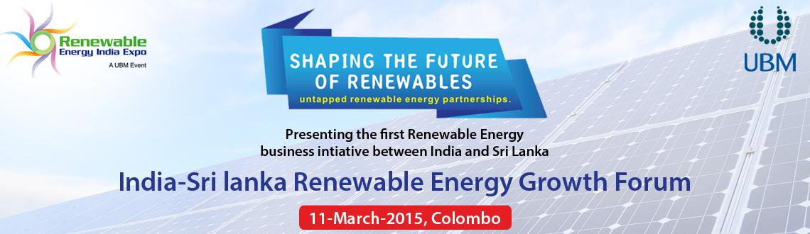 India - Sri Lanka Renewable Energy Growth Forum