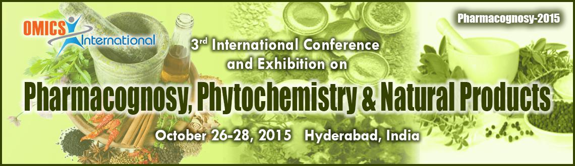 3rd International Conference and Exhibition on Pharmacognosy, Phytochemistry  Natural Products